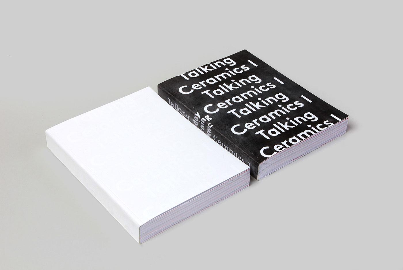 Talking Ceramics I Book design