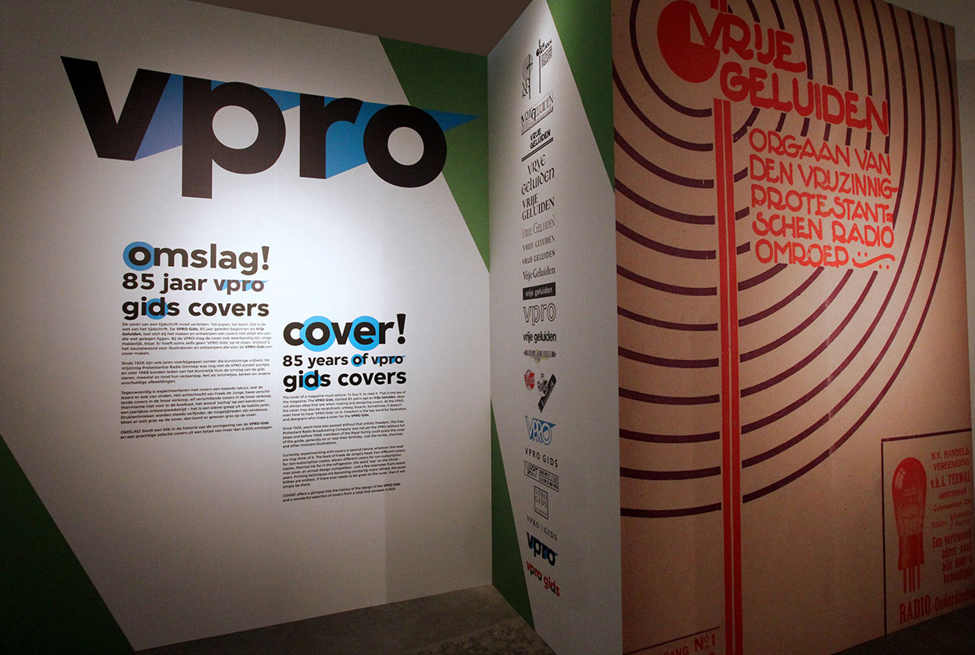 Cover! – 85 Years of VPRO Gids Covers Exhibition