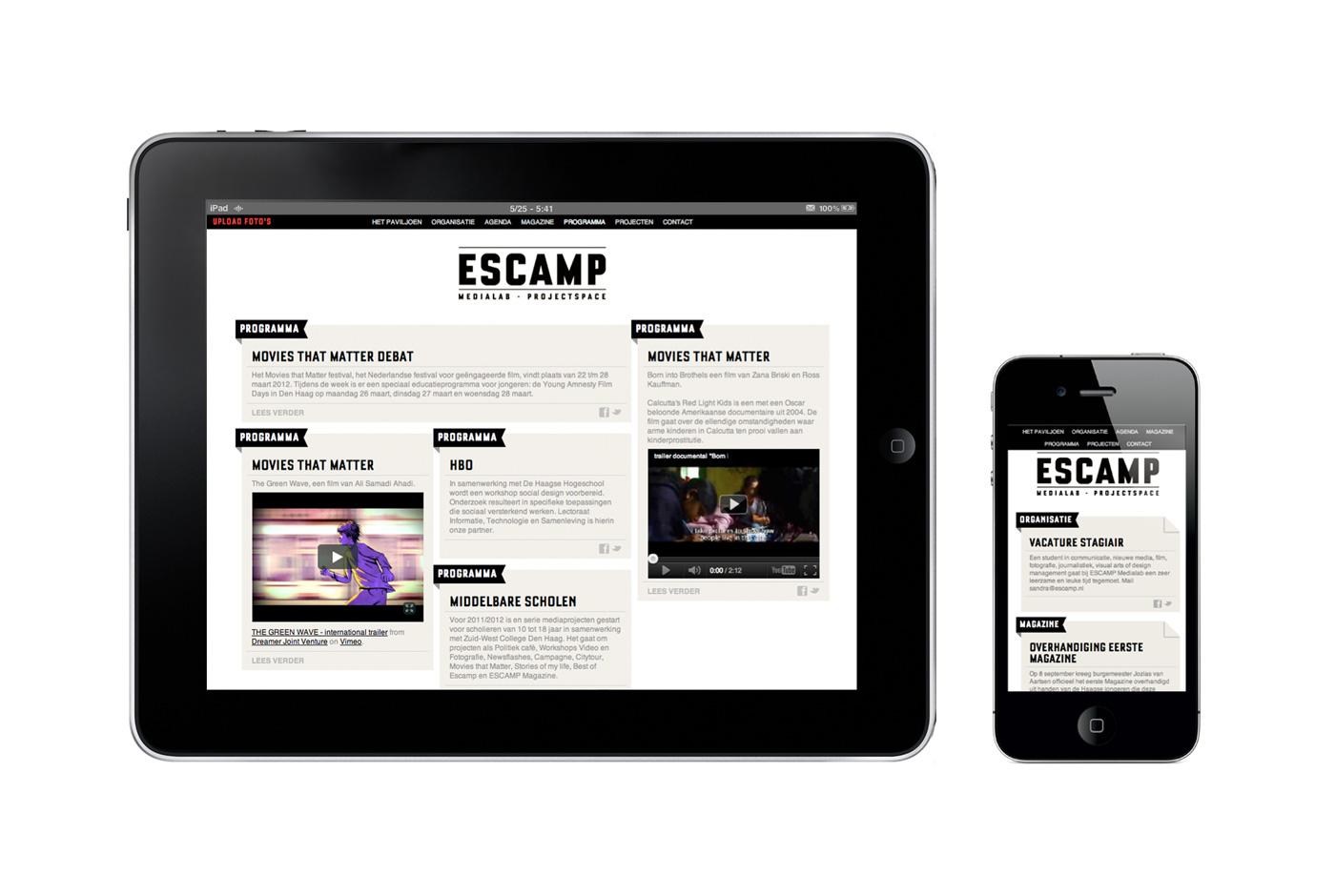 Escamp Website
