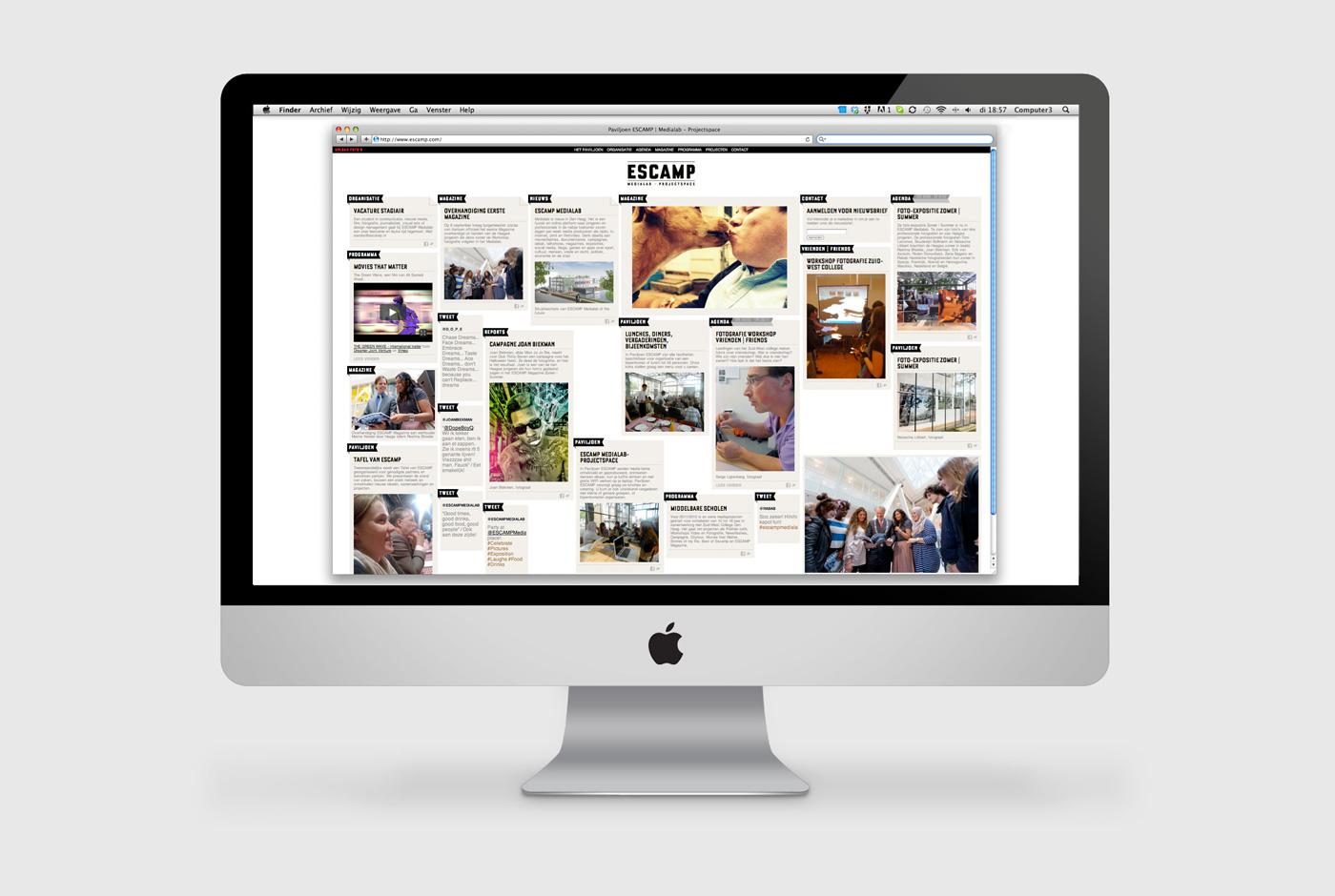 Escamp Identity Website