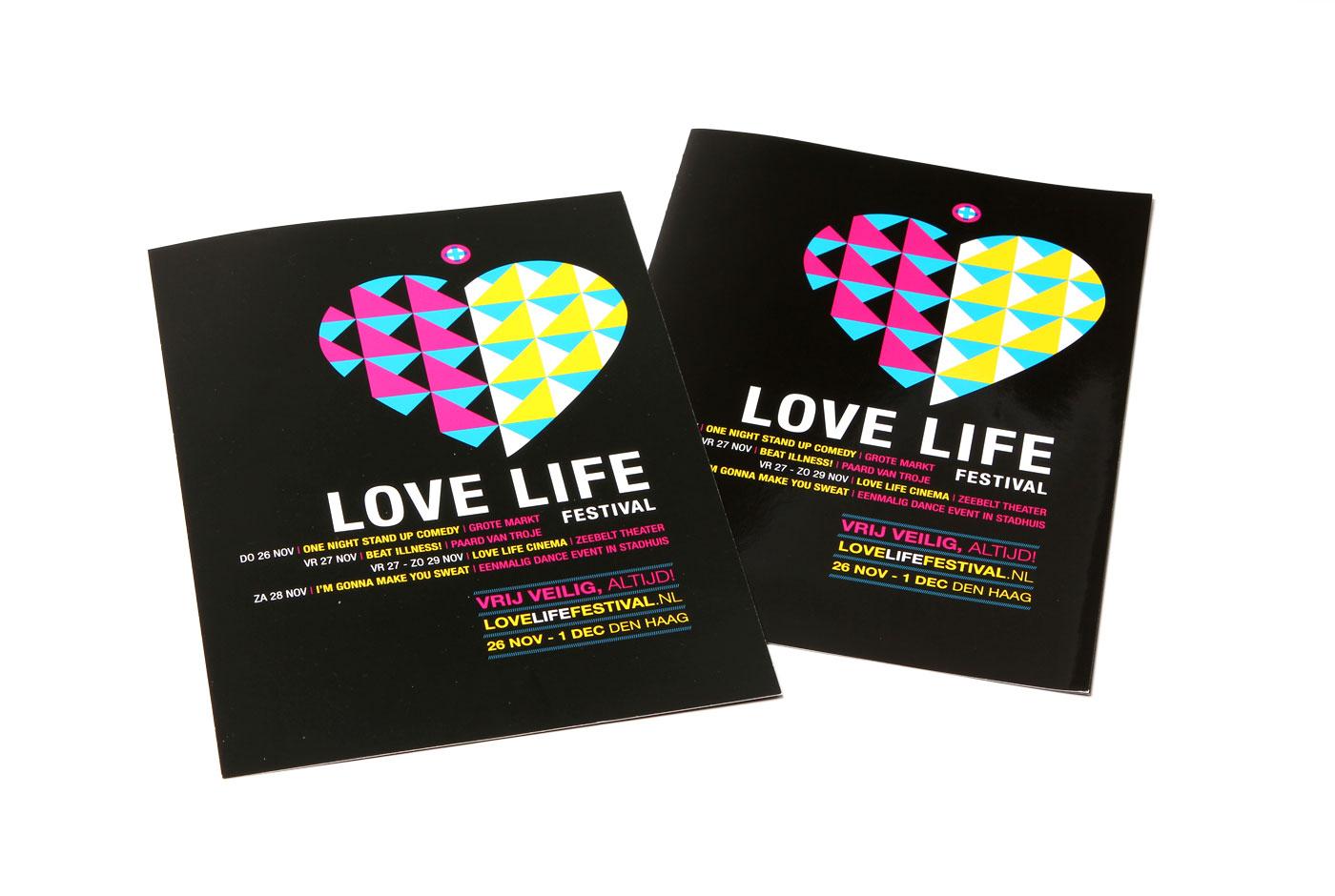 Love Life Festival Identity